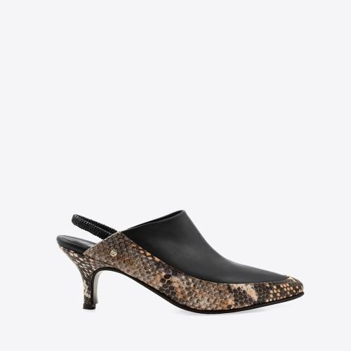 Zapato Habana negro