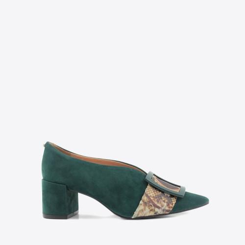 Zapato Nina verde