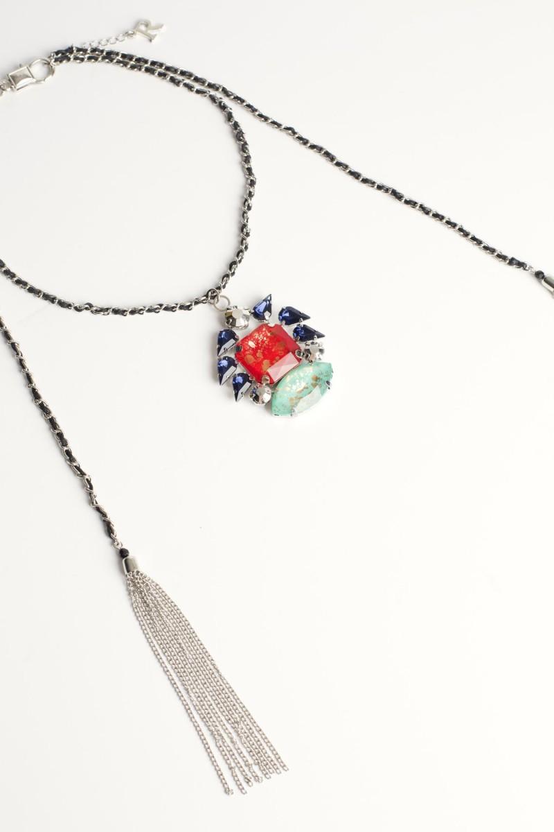 Collar Rainbow Stone