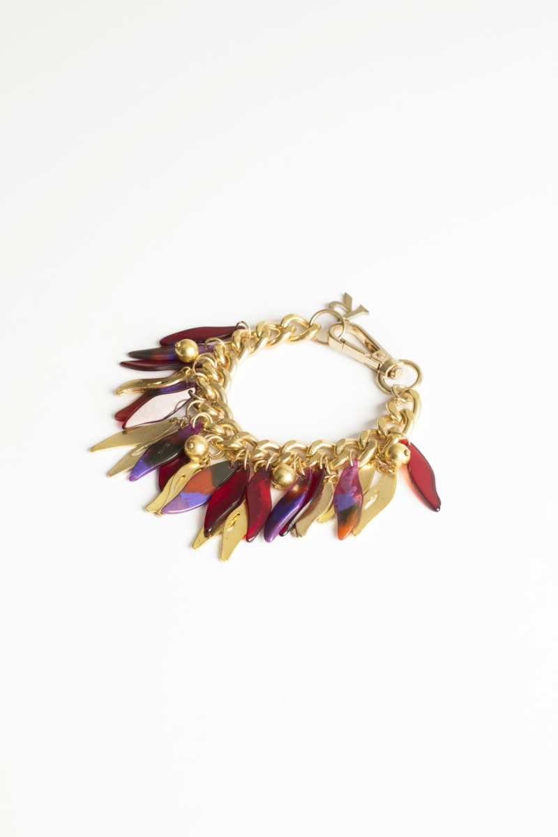 Pulsera Metallic Feather