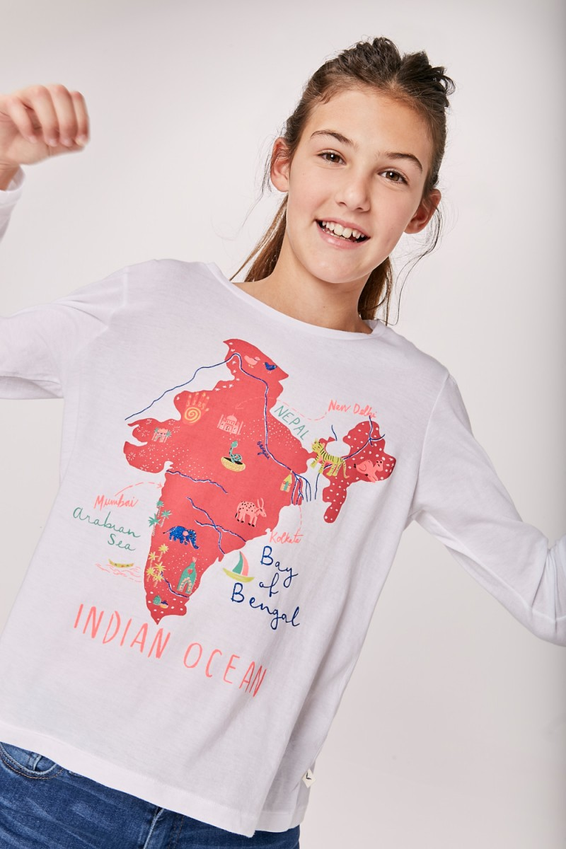 Remera India Girls