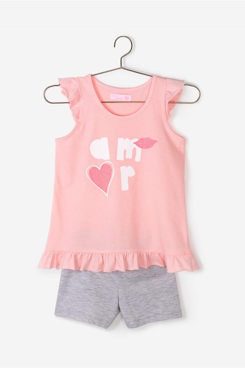Pijama Mini Plain