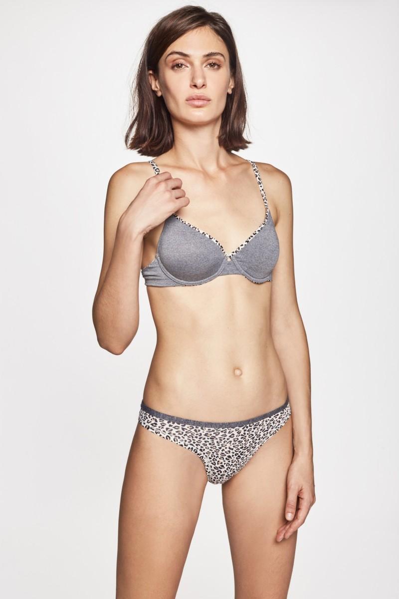 Bikini Print Melange