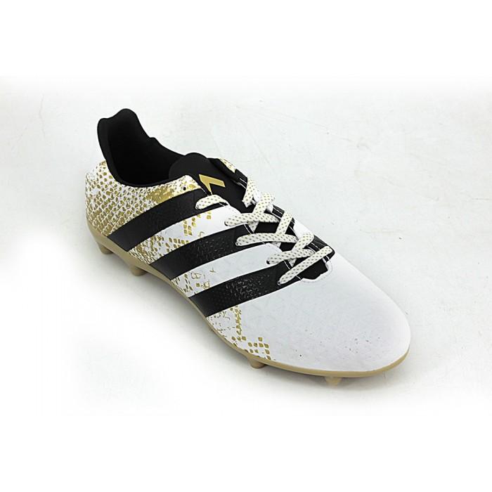 16fbf723b828a sale botin adidas ace 16.3 fijo blanco dorado zapatillas e shop 8a159 9d973
