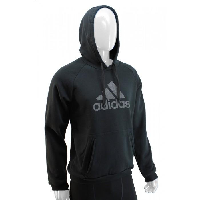 Buzo con Capucha Adidas Negro Hombre