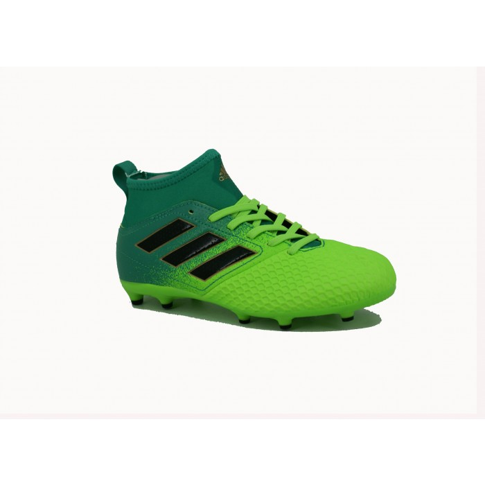 Botin Adidas Fijo Ace 17.3 Verde/Negro  Niño Deporfan