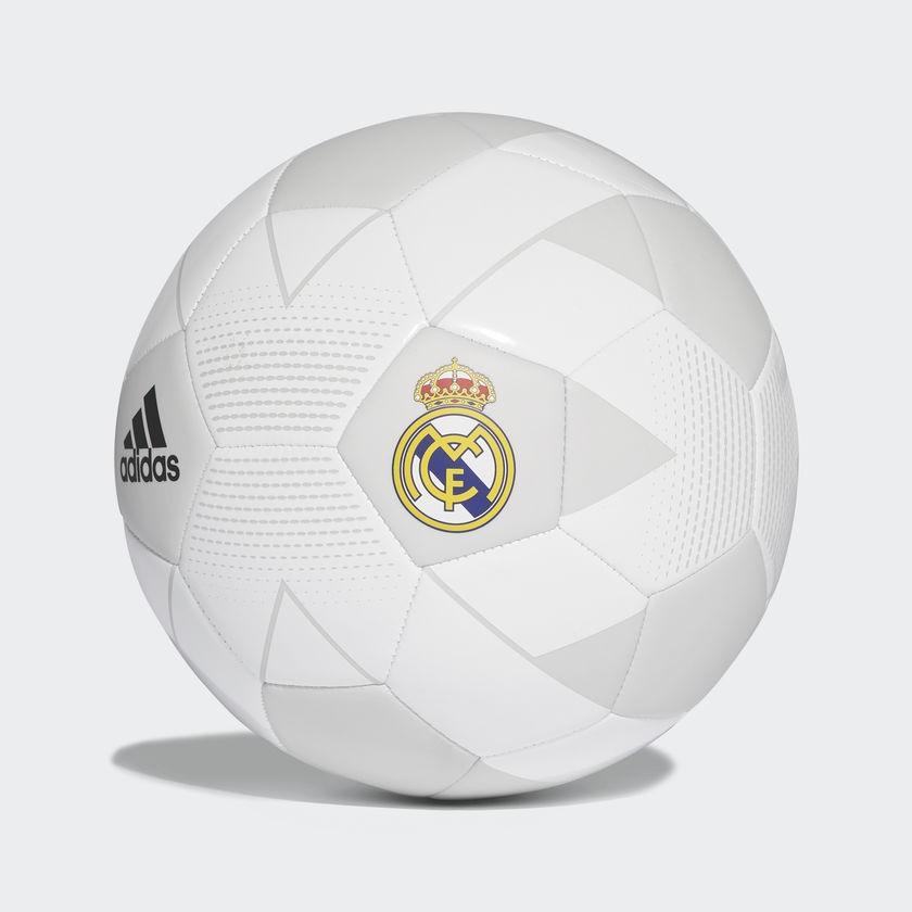 Pelota Adidas Real Madrid Nro 5 Blanco Gris Deporfane - Accesorios ... 8226a51ba468b