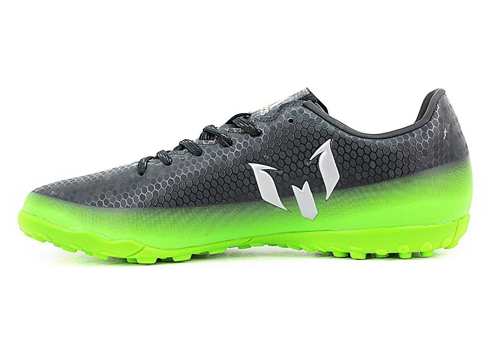 zapatos deportivos fcd14 78c0f Botin Adidas Messi 16.4 Papi Negro Verde - Zapatillas - E-Shop