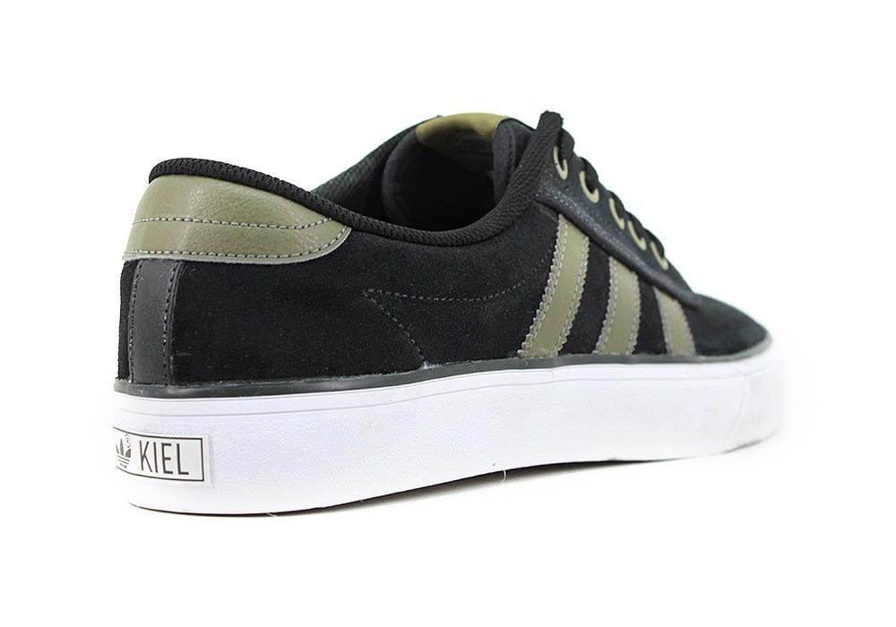 Matemáticas Pensativo Sobriqueta  Zapatilla Adidas Kiel Negro Verde - Zapatillas - E-Shop