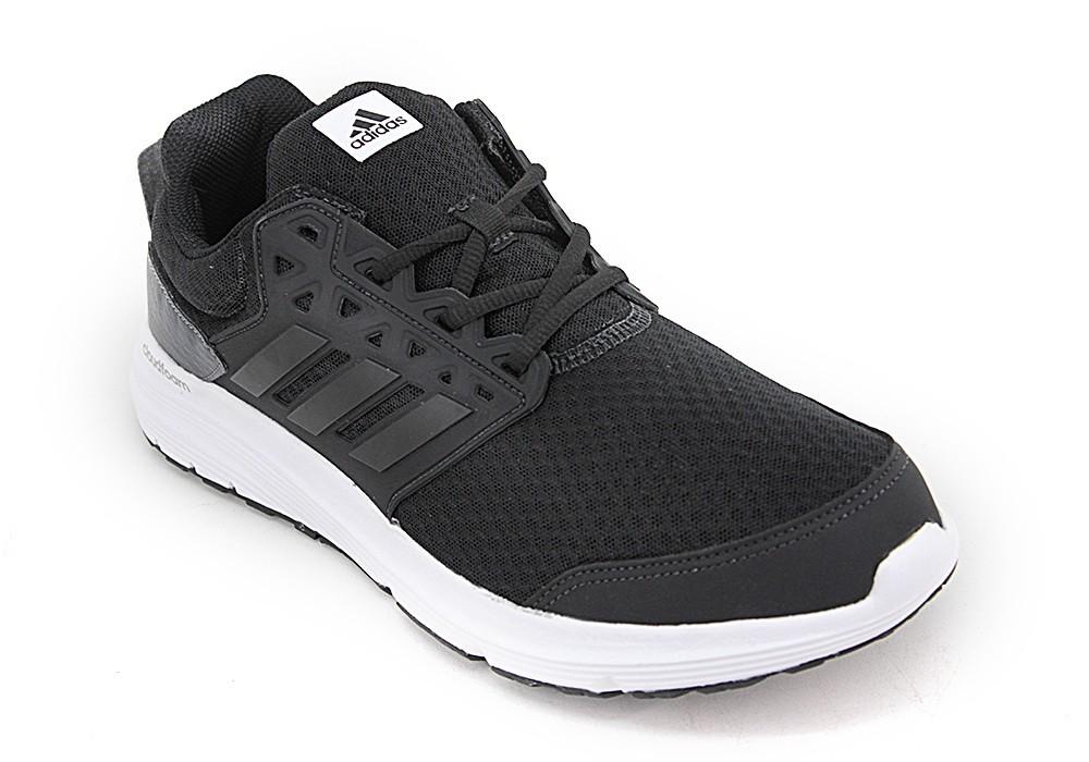 zapatillas adidas running hombre negras