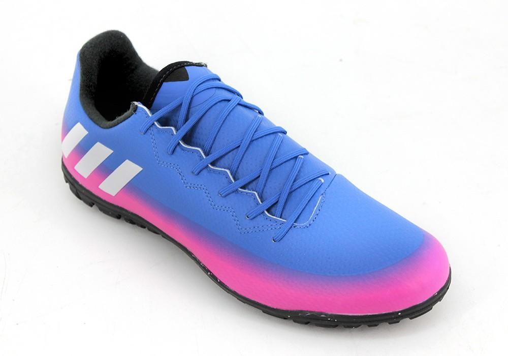 2b8e29db2ad29 Botines Adidas Messi 16.3 Papi Azul Violeta Hombre - Zapatillas - E ...