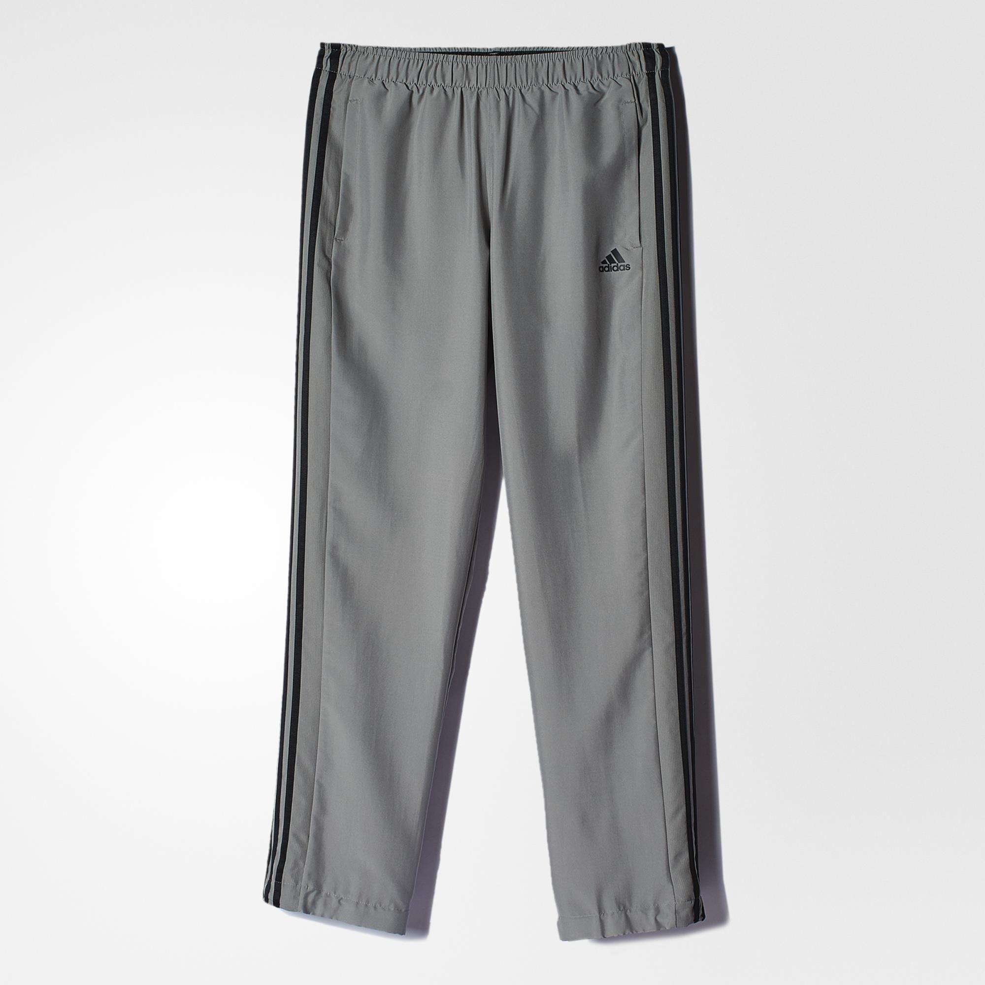 hasta ahora verano bordado  Pantalon Adidas Training Microfibra Gris Negro - Indumentaria - Hombres -  E-Shop