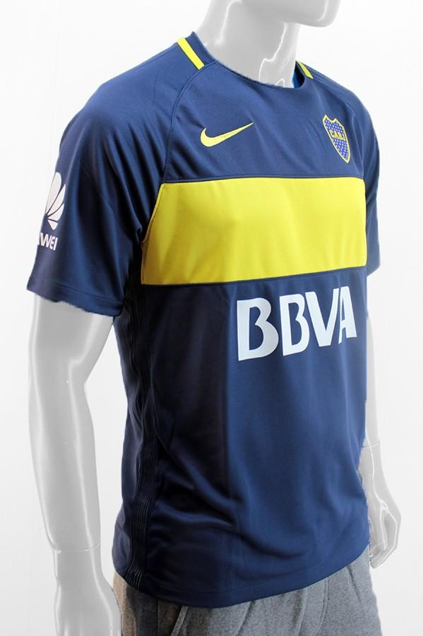 Húmedo ventana cable  Camiseta Boca Titular Azul Amarilla Nike Original 2017 - Indumentaria -  Hombre - E-Shop