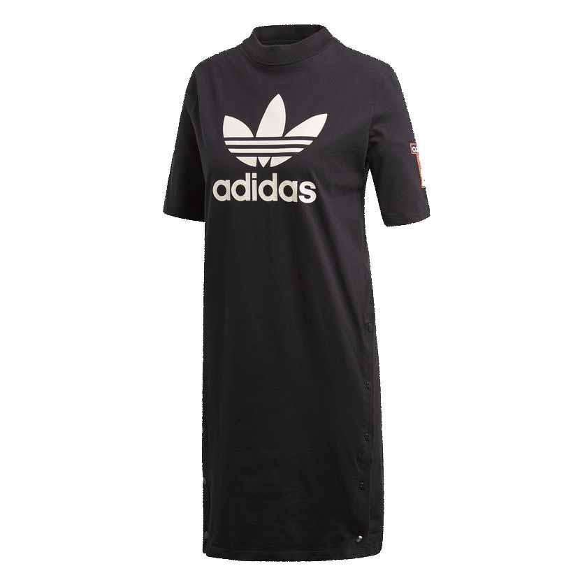 Alaska espectro Siesta  Vestido Adidas Originals Tee Dress Negro/Blanco Dama Deporfan -  Indumentaria - Mujeres - E-Shop