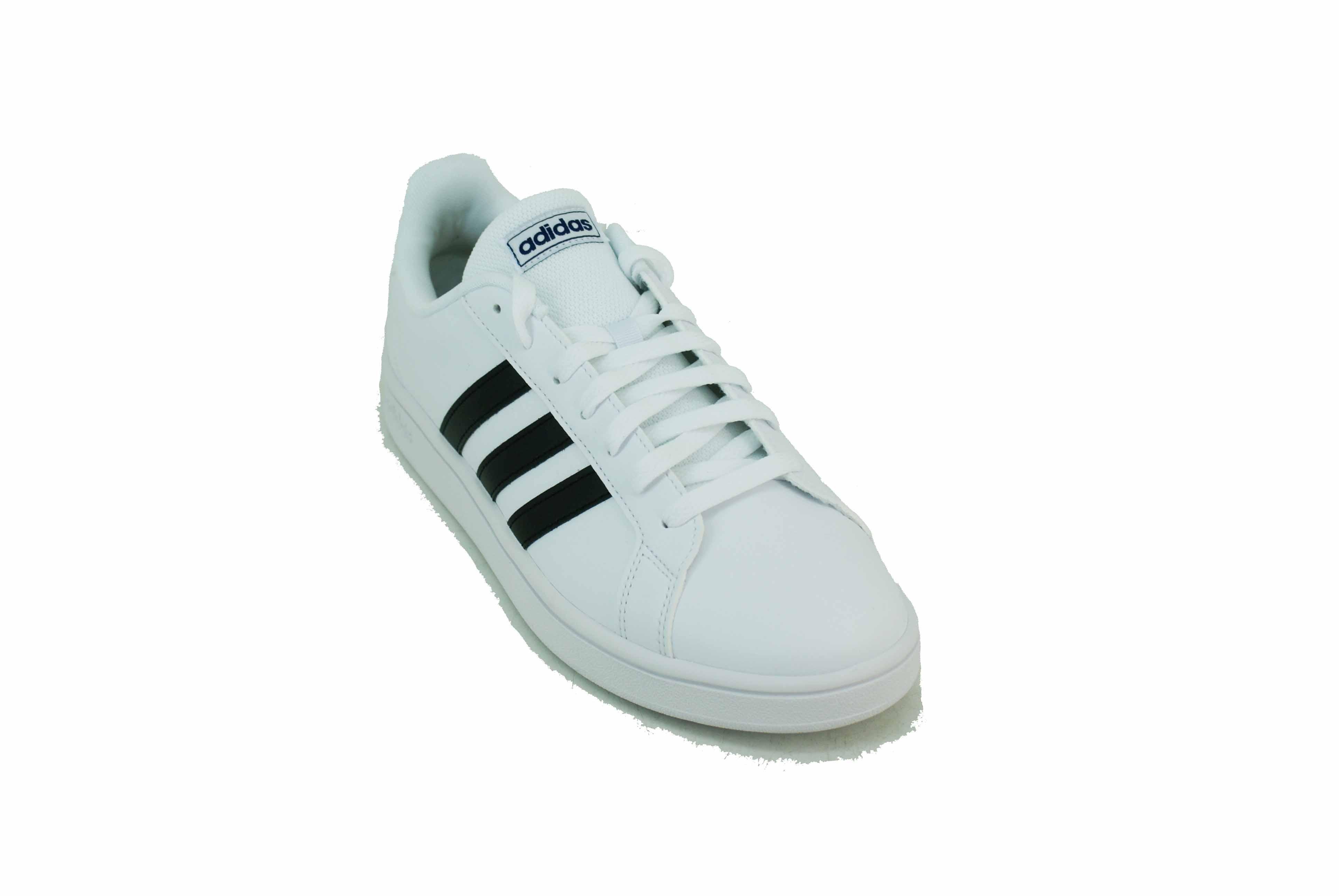 microondas Bisagra imagen  Zapatilla Adidas Grand Court Base Blanco/Negro Hombre Deporfan - Zapatillas  - E-Shop