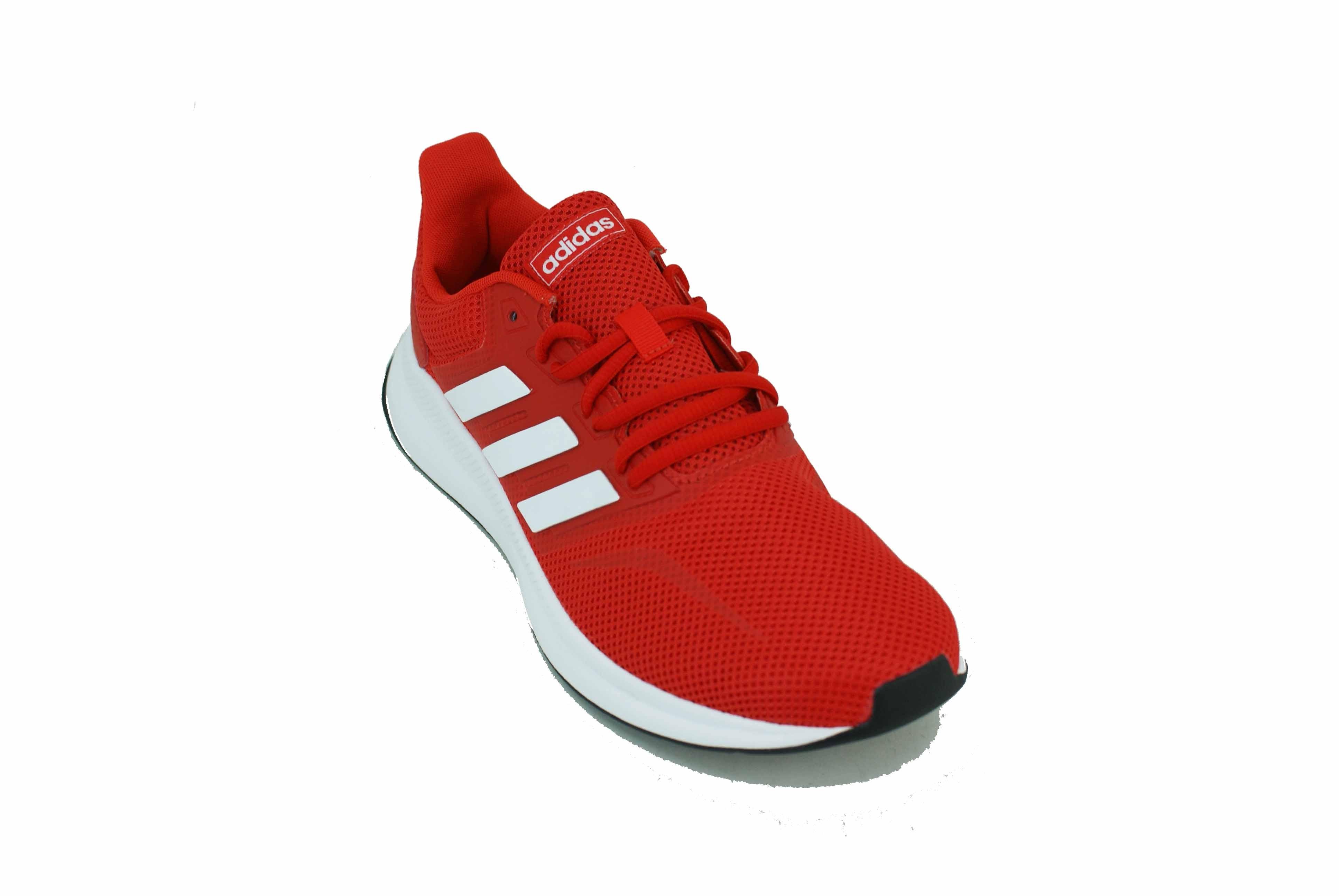Electrónico Hacia abajo Antagonismo  Zapatilla Adidas Runfalcon Rojo/Blanco Hombre - Zapatillas - E-Shop