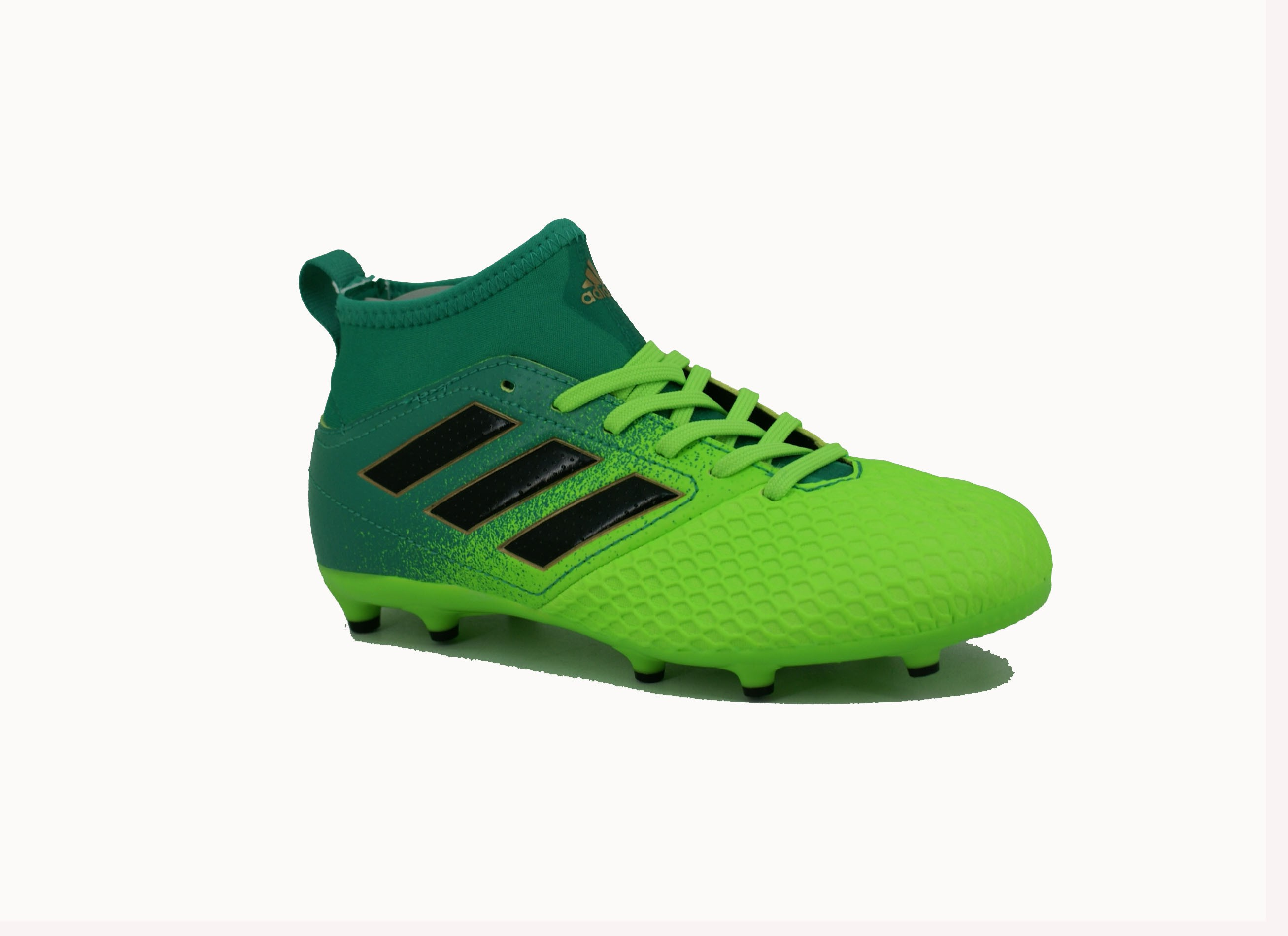 Botin Adidas Fijo Ace 17.3 Verde Negro Niño Deporfan - Zapatillas - E ... 1b855dfbb209c