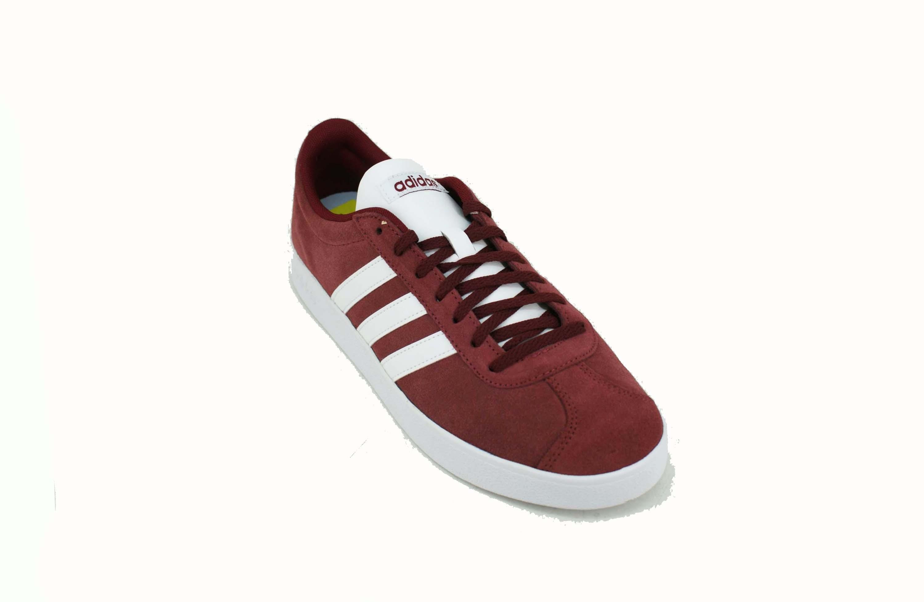 ac165a695 Zapatilla Adidas VL Court 2.0 Bordo/Blanco Hombre Deporfan ...