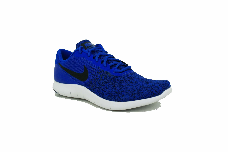 Nike Deporfan Azulnegro Contact Hombre Flex Zapatilla Zapatillas W9EI2HDY
