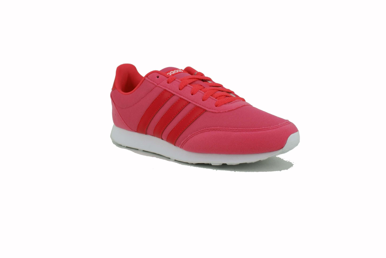 sneakers for cheap 6856c f7bc8 Zapatilla Adidas V Racer 2.0 Fucsia Blanco Dama Deporfan ...