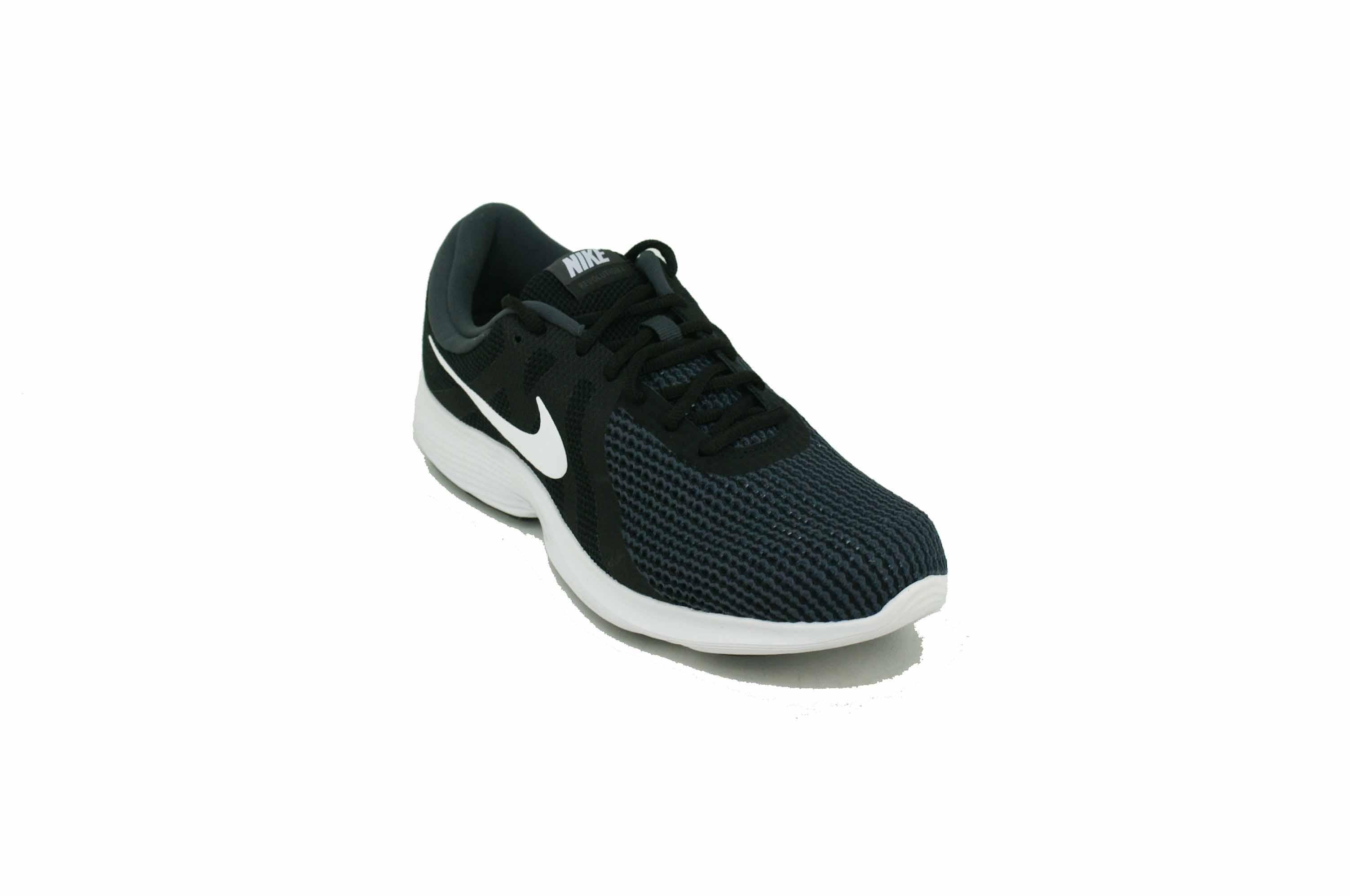 c93d84ee8666 Zapatilla Nike Revolution 4 GRis Negro Blanco Hombre Deporfan ...