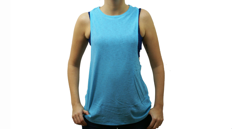 ff9143010 Musculosa con Top Puma Celeste/Azul Dama Deporfan ...