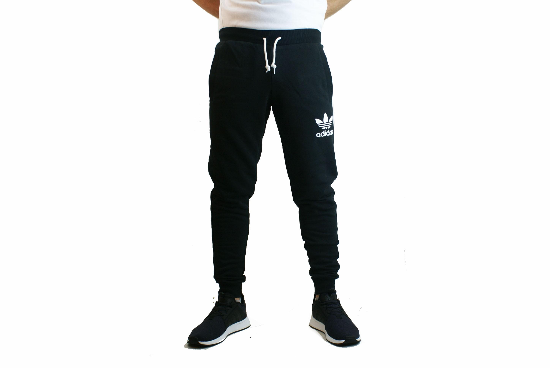 Pantalon Negroblanco Hombre Ori Adidas Deporfan Algodon 7rqnw0fZrx