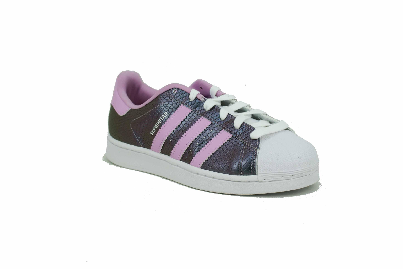 Niña Metalizado Zapatilla Adidas Superstar Deporfan Originals Lila ybYgvIf67m