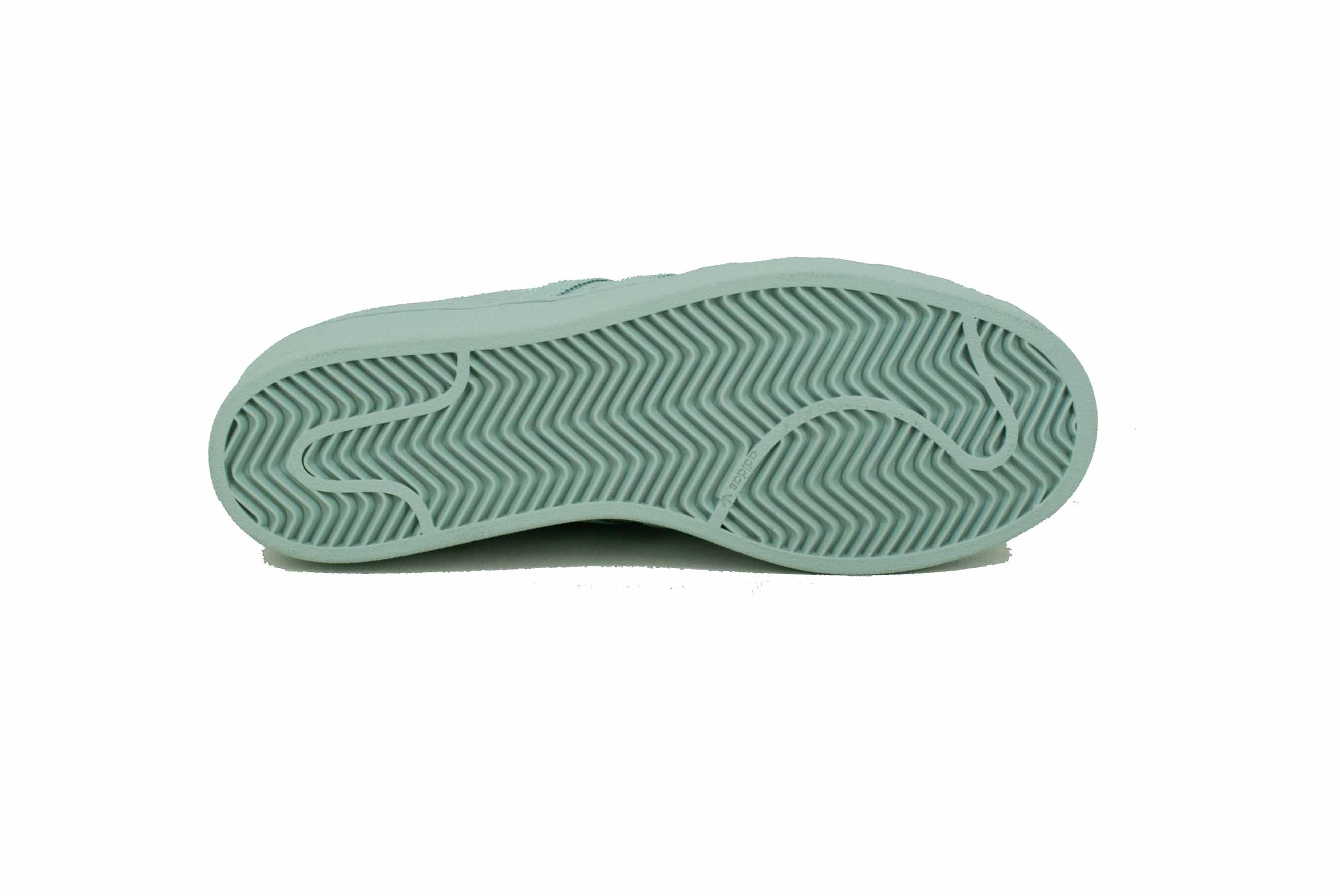 adidas superstar verdi acqua
