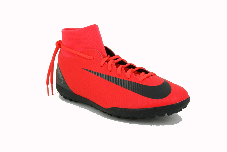 Zapatilla Nike Superflix 6 CR7 Rojo Negro Hombre Deporfan ... ba1e5eab9130c