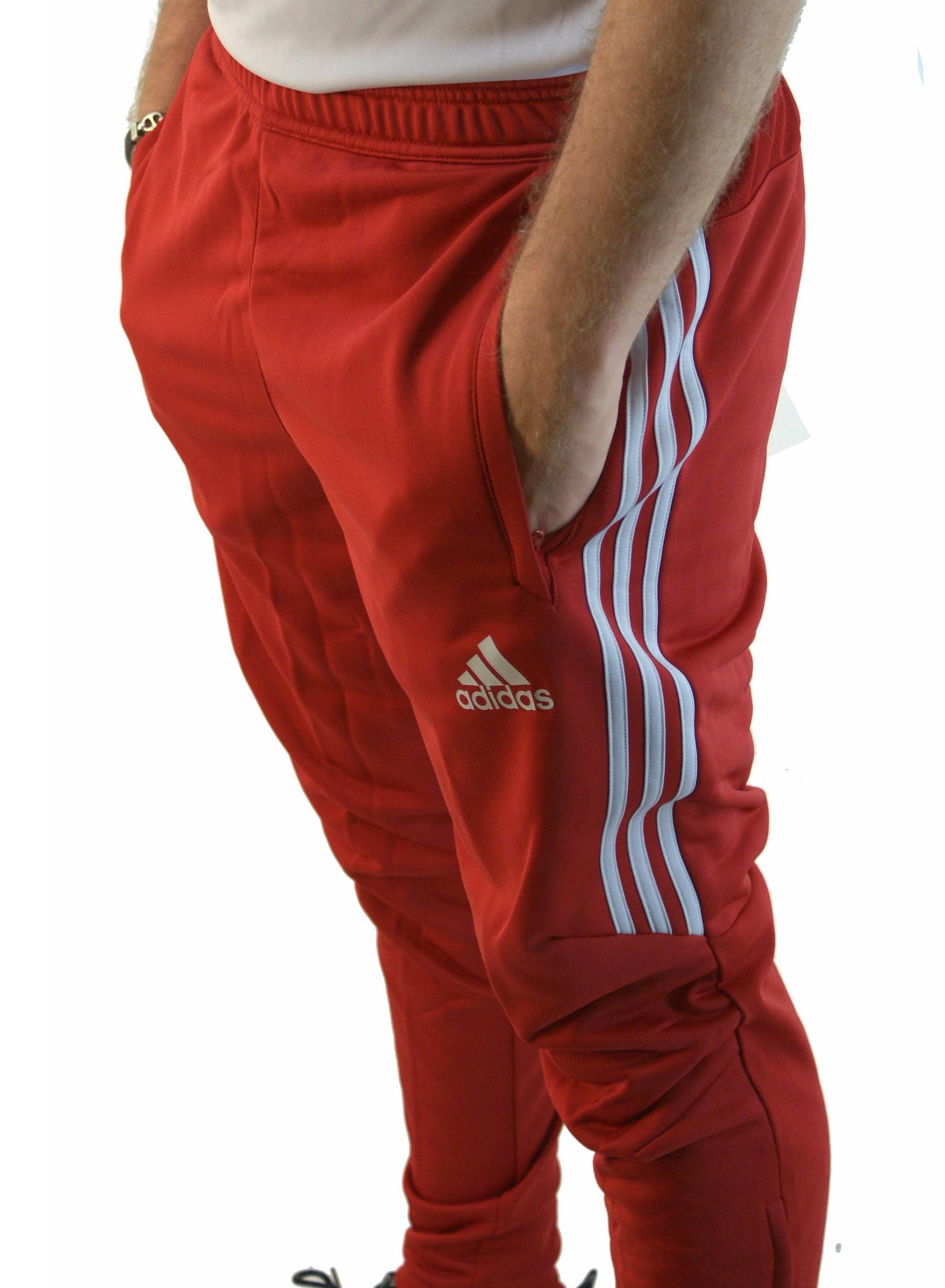 Pantalon Adidas Hombre Rojo 52 Descuento Bosca Ec
