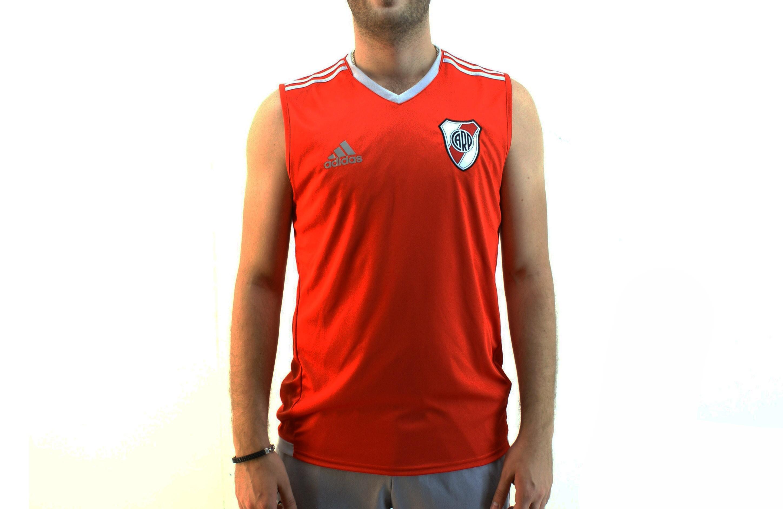1b4634719 Musculosa Adidas River 17 18 Rojo Hombre Deporfan - Indumentaria ...