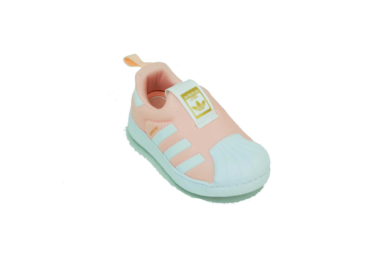 d259abc501ee8 Zapatilla Adidas Originals Superstar 360 Coral Blanco Bebe Deporfan ...