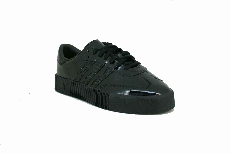 Zapatilla Adidas Originals Sambarose Negro Charol Dama