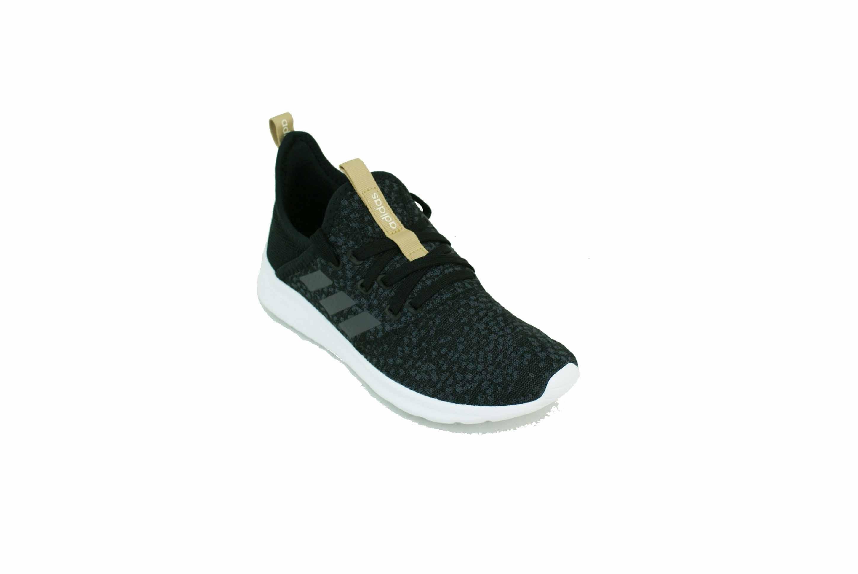 d7b7c6fc52 Zapatilla Adidas Cloudfoam Pure Negro/GRis/Blanco Dama Deporfan ...