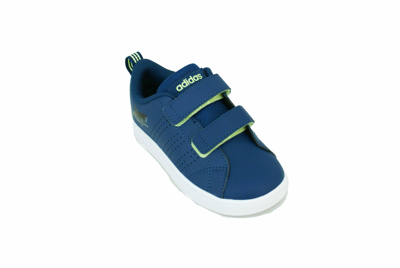 zapatillas adidas niño azul