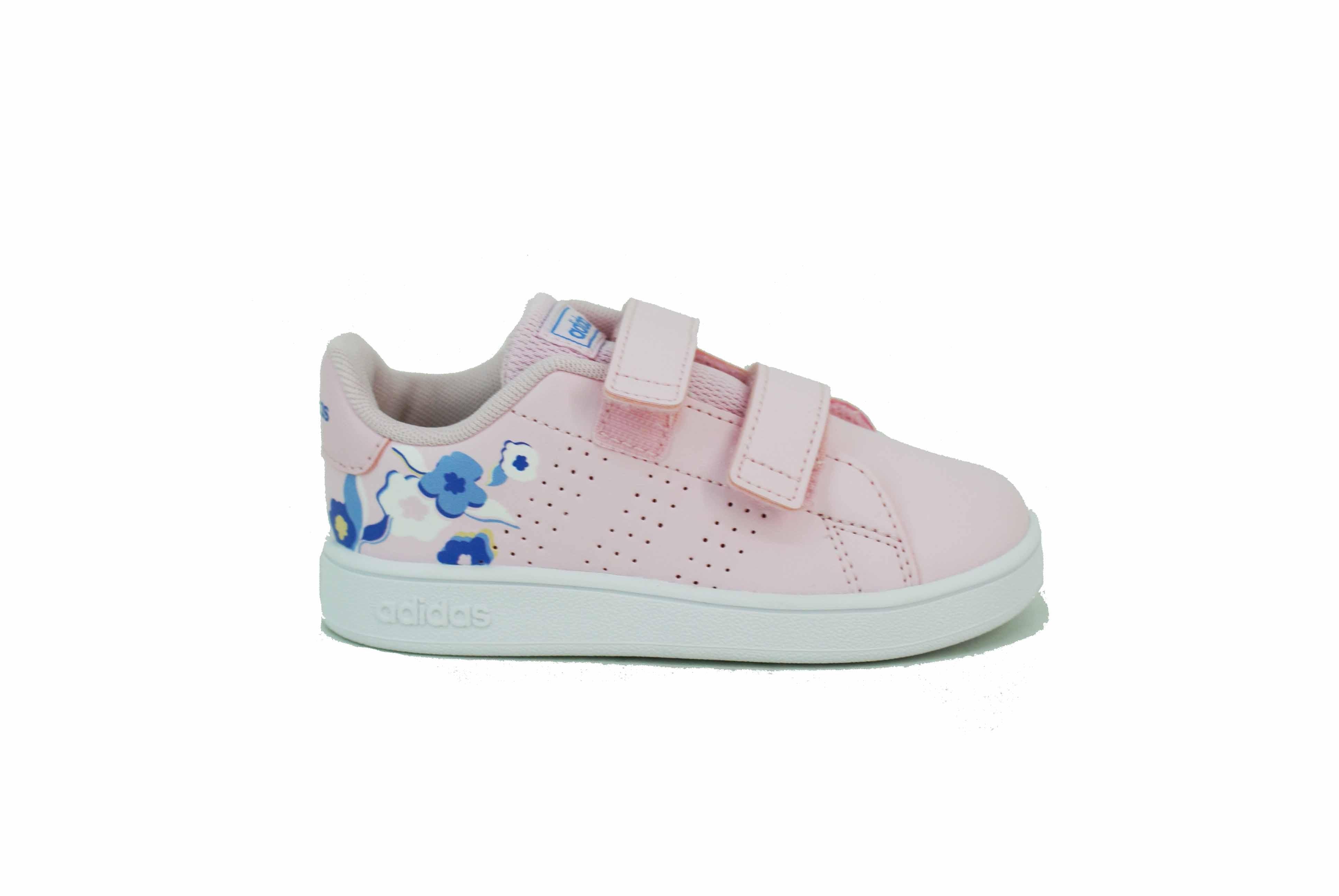 zapatillas adidas con flores