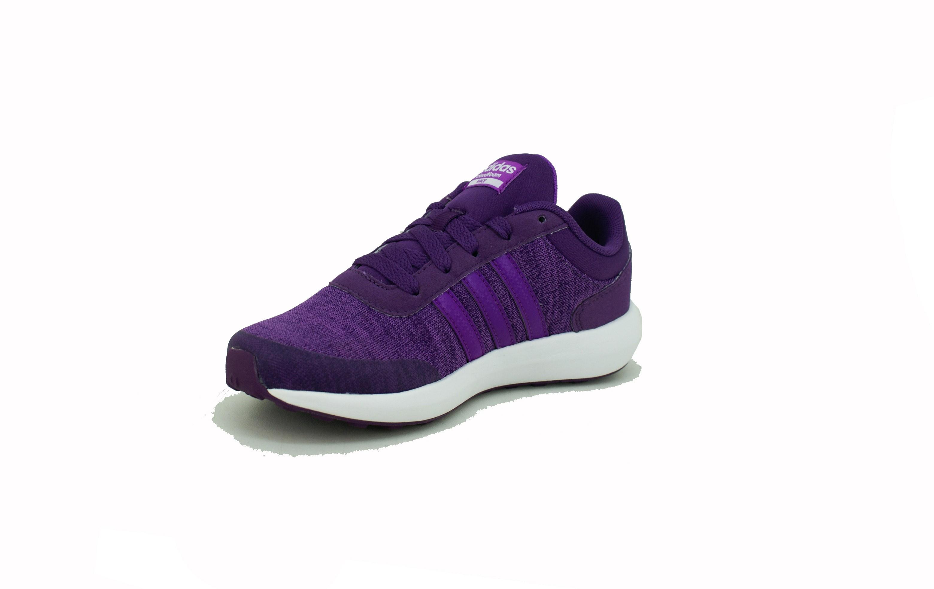 adidas violetas