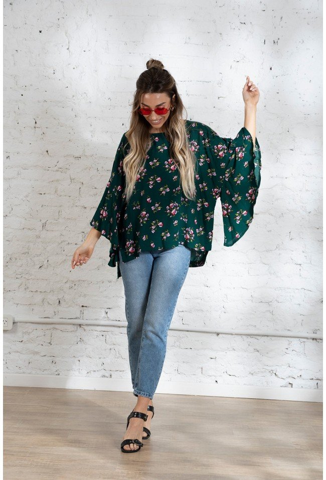 BLUSA PARALI FLOWERS