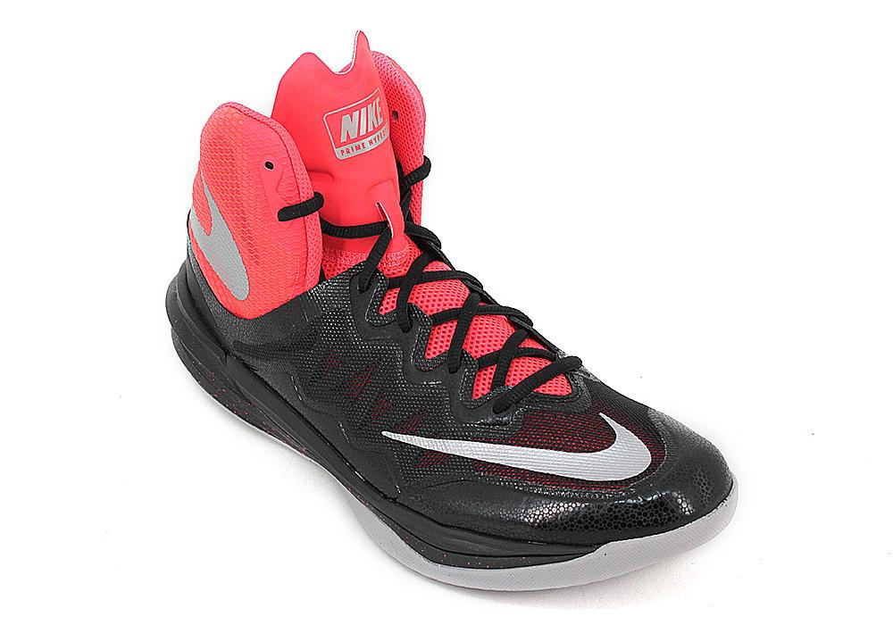 Zapatillas Nike Basquet Prime Hype Negro Naranja Hombre ...