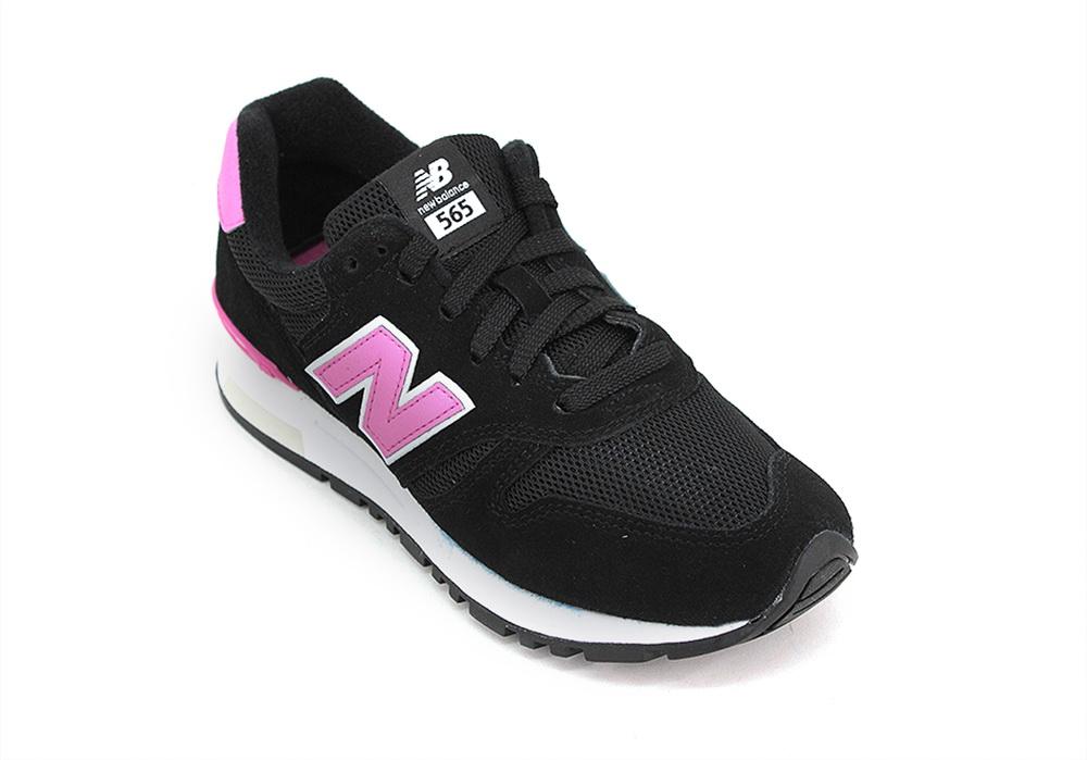 Zapatillas New Balance WL 565 PG Negro Rosa Mujer