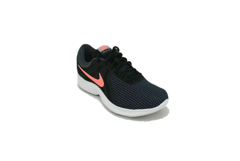 Disminución ensillar Increíble  Zapatilla Nike Revolution 4 Negro/Coral Dama Deporfan - Zapatillas -  Mujeres - E-Shop