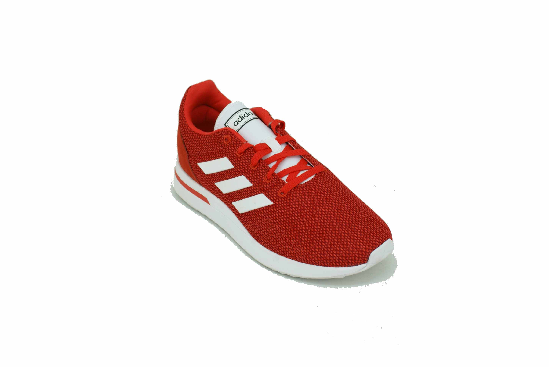 RojoBlanco Adidas Run70S Deporfan Zapatilla Hombre mnv8Ow0N