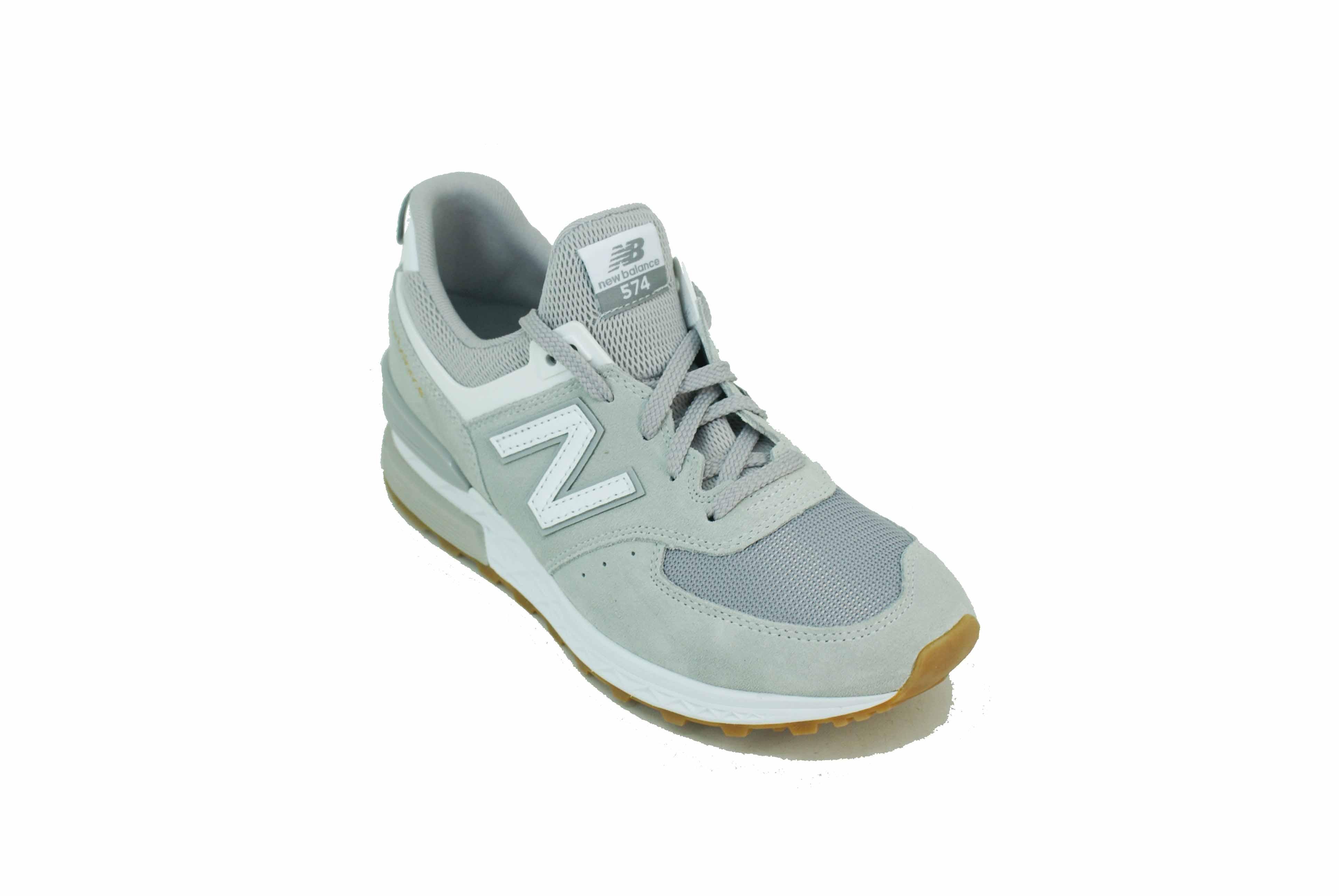 Zapatilla New Balance MS574FCG Gris/Blanco Hombre