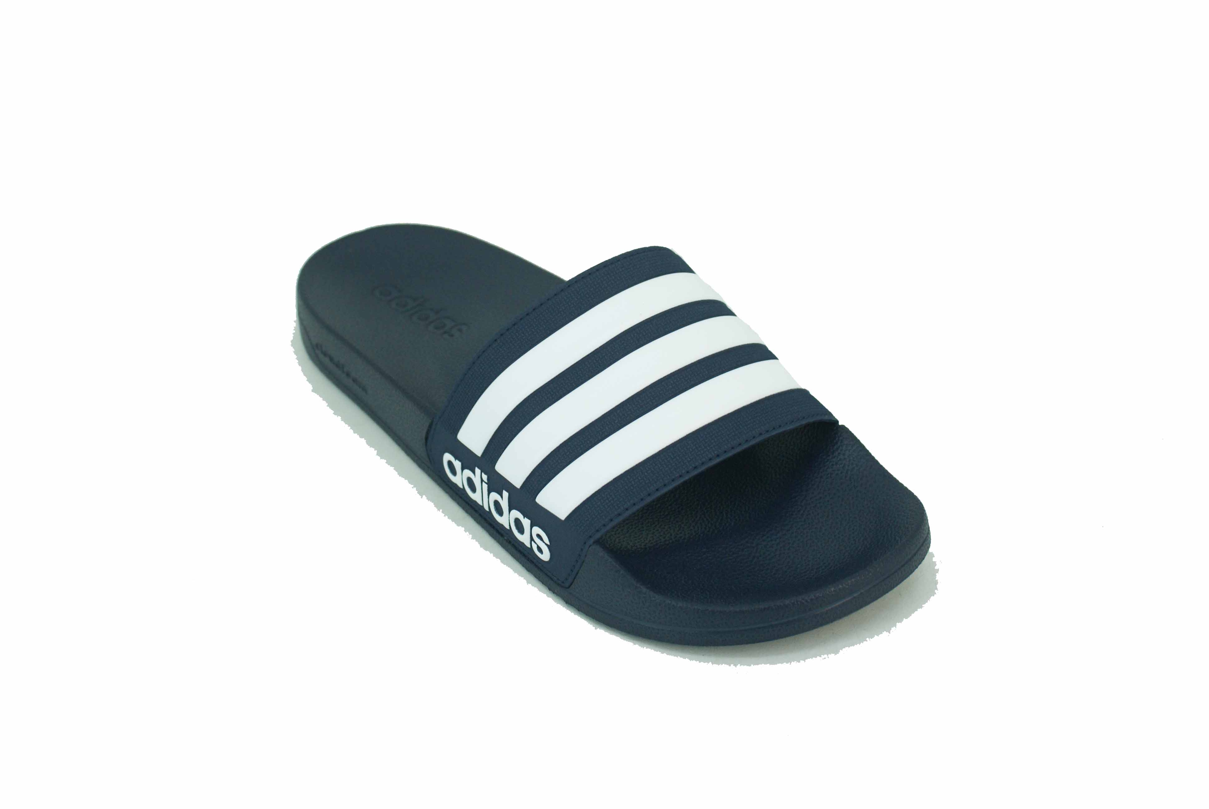Ojota Adidas Adilette Shower Azul/Blanco Hombre