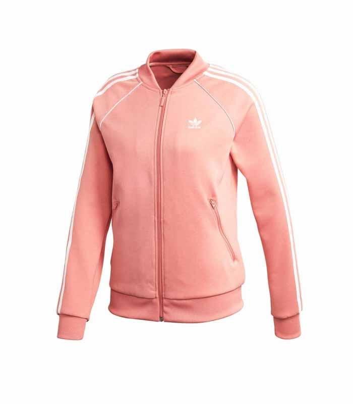 Campera Adidas Originals Rosa/Blanco Dama Deporfan