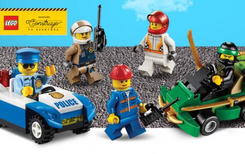 Construye tu Aventura con LEGO. Una colección única para potenciar la imaginación de los constructores del mañana.