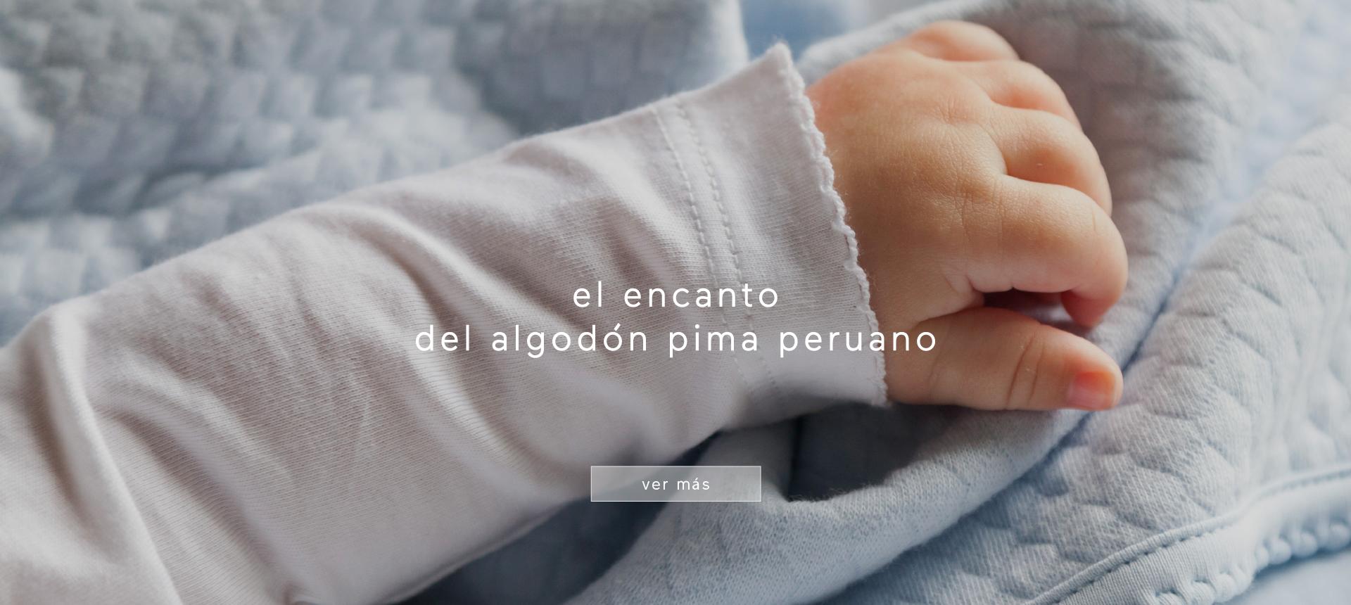 en babycottons cuidamos la delicada piel de tu bebé, seleccionando materias primas de máxima calidad en nuestras prendas.