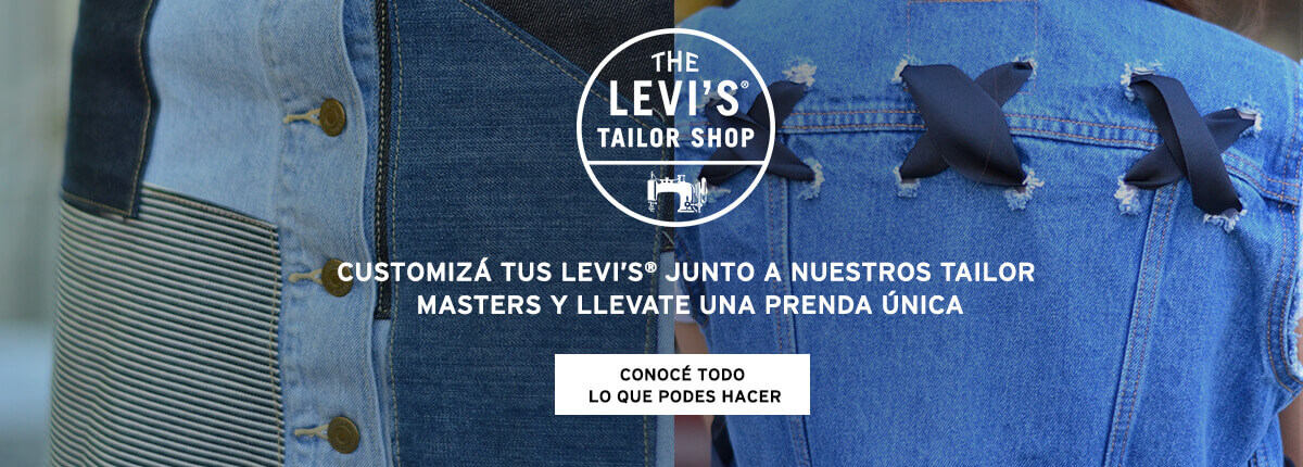 customiza denim levis argentina tailor shop