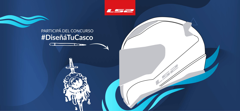 LS2. Participá del concurso #DiseñaTuCasco